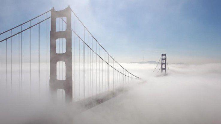 Fog Computing: Anstatt Daten zur Analyse in die Cloud zu geben, werden sie nah am Entstehungsort gefiltert und ausgewertet.