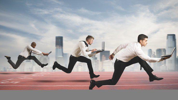 Mit optimierten Kundenprozessen können Unternehmen an ihren Wettbewerbern vorbeiziehen.