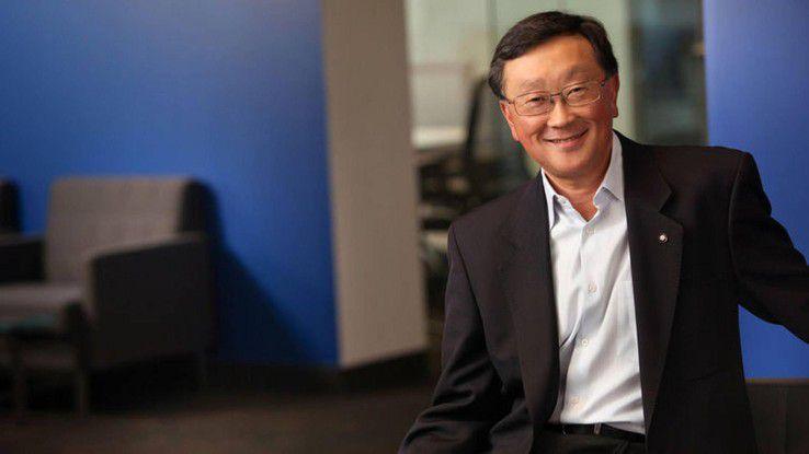 John Chen: Es wird weiter Geräte mit Blackberry-Tastatur geben - von Lizenznehmern.