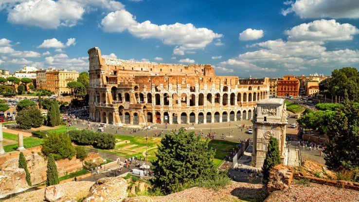 Gerade in Touristenhochburgen wie Rom besteht ein erhöhtes Infektionsrisiko mit mobiler Malware.