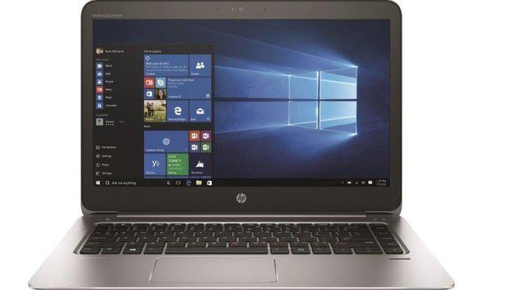 Leichtes 14-Zoll-Notebook im Test: HP Elitebook 1040 G3