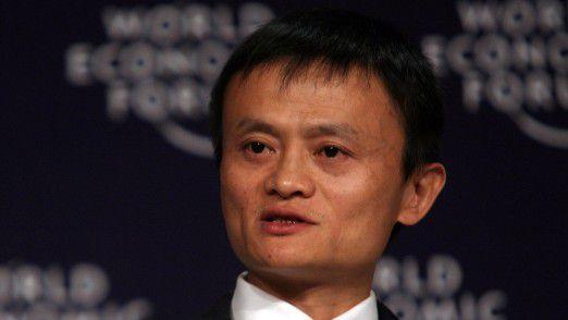 Alibaba Group CEO Jack Ma tritt ab.