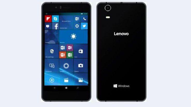 Softbank 503LV: Lenovo bringt sein erstes Windows-Smartphone unter dem Brand des Carrier Softbank heraus.