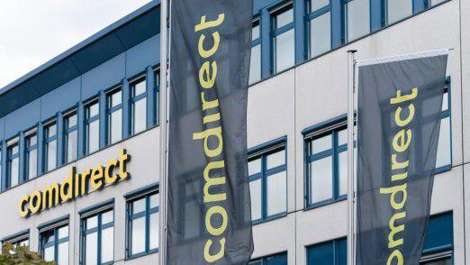 Die Onlinebank Comdirect profitiert von den Börsenturbulenzen.