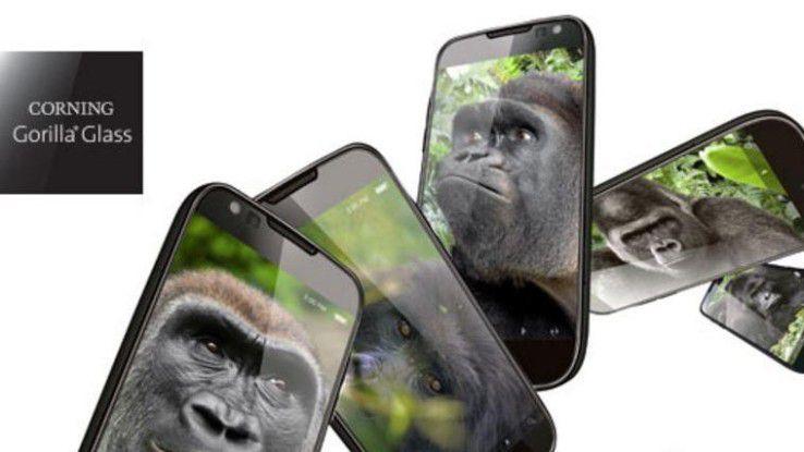 Noch in diesem Jahr sollen erste Smartphones und Tablets mit dem robusteren Gorilla Glass 5 herauskommen.