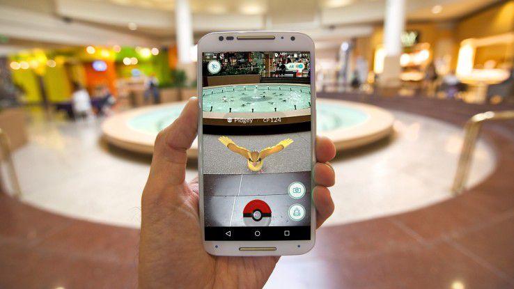 Der Hype um das Augmented-Reality-Spiel Pokémon Go zeigt die wachsende Bedeutung miteinander verschmelzender realer und virtueller Welten.