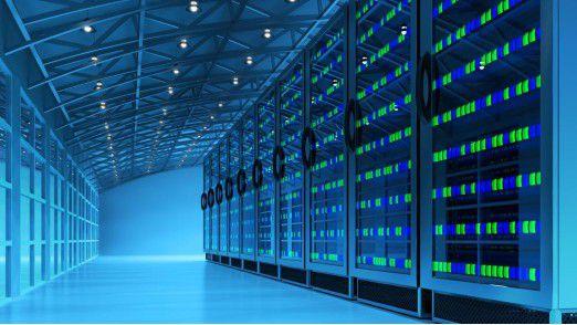 Neuinvestitionen in solche Serverhallen sind heute eher selten.