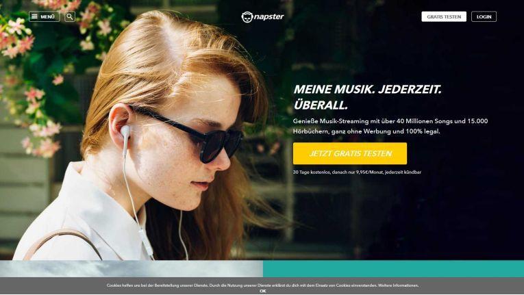 Rhapsody wurde zu Napster - einer heutzutage völlig legalen Musik-Streaming-Plattform.