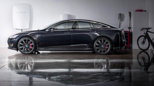 Ein Taxi muss fahren, sonst verdient sein Fahrer kein Geld. Für Ladezeiten wie sie Tesla selbst mit einer Powerwall (Foto) beim Model S vorsieht bleibt da nicht genügend Zeit.