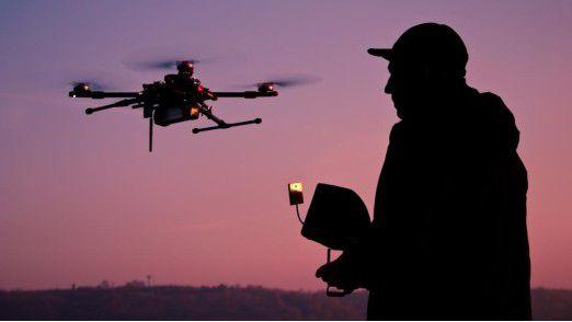 Etwa 500.000 Drohnen sollen sich Schätzungen zufolge in Deutschland befinden.