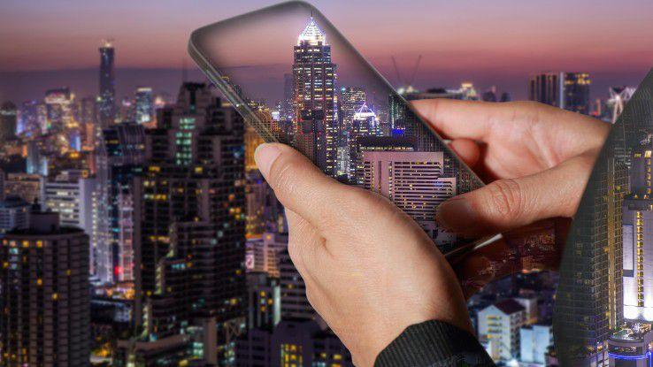 Das Sammeln der Daten von tausenden Endgeräten in der Smart City hängt dirket von der Konnektivität ab.