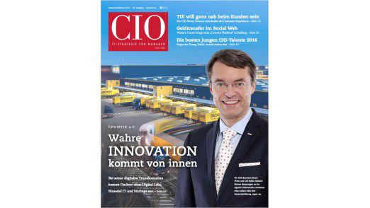 Das CIO-Magazin September/Oktober 2016.