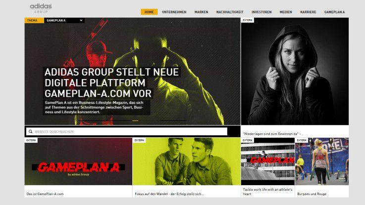 """Mit seinem Projekt """"MyArena"""" stellt sich die adidas Group der Jury des Digital Leader Award."""