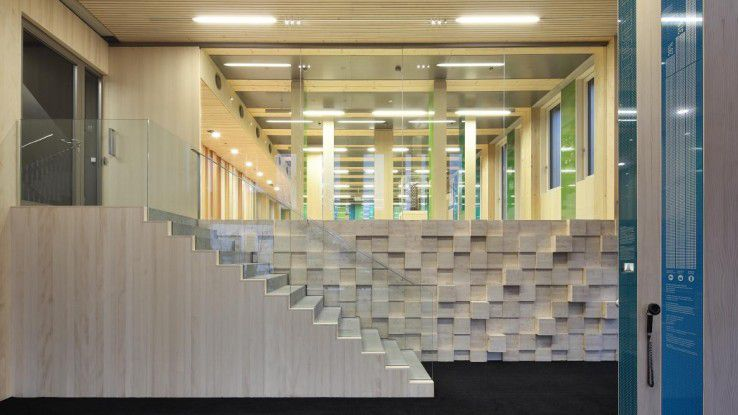 Mit dem LCT One hat Rhomberg ein Smart Building in Hybrid-Bauweise entworfen.