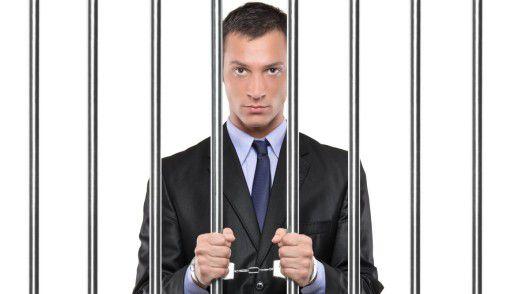 Manager müssen wegen Vergehen selten ins Gefängnis, aber es geht in den Verfahren in der Regel um sehr viel Geld.