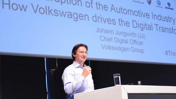 """Volkswagen-CDO Johann Jungwirth: """"Das Self Driving System wird das nächste große Ding."""""""