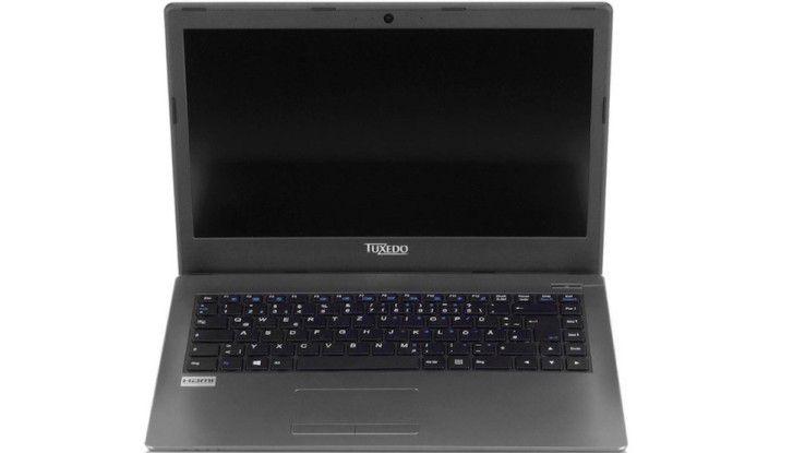 Das Tuxedo Book 1406: Der 14-Zoll-Laptop ist eines der ersten Notebooks mit Kaby Lake