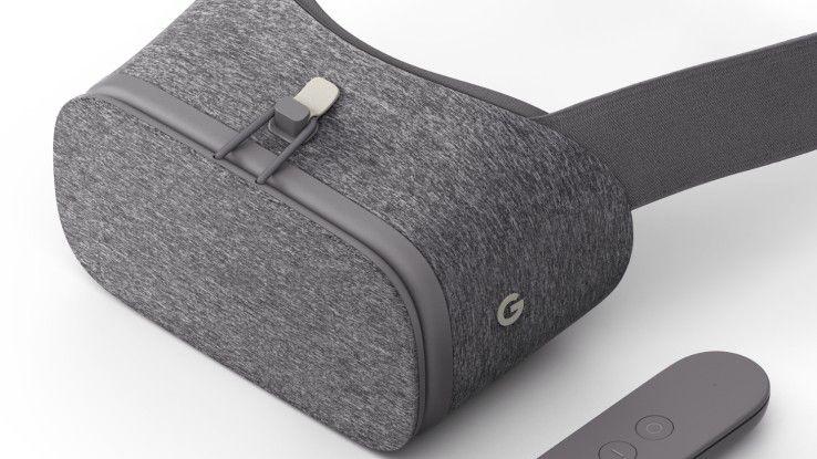 Googles VR-Brille Daydream View kann nun vorbestellt werden. Die Auslieferung erfolgt Anfang bis Mitte November.