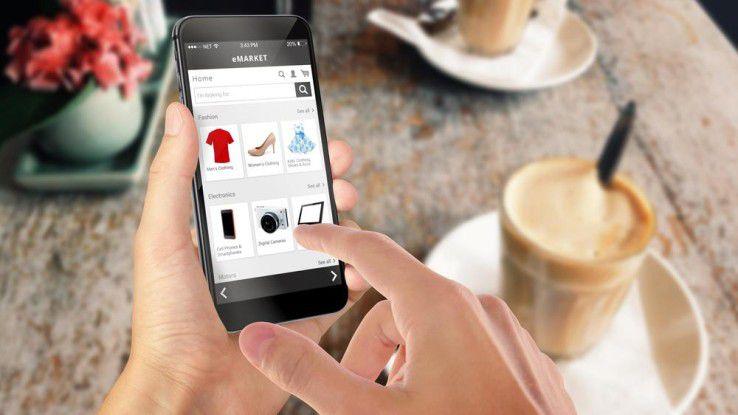 """Anhand der vorangegangenen Einkäufe """"weiß"""" ein selbstlernendes System, wann der Kunde ein bestimmtes Produkt kaufen will."""