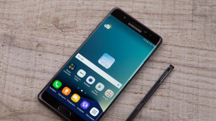 Trotz des Desasters mit dem Galaxy Note 7 will Samsung auch 2017 am Phablet festhalten.