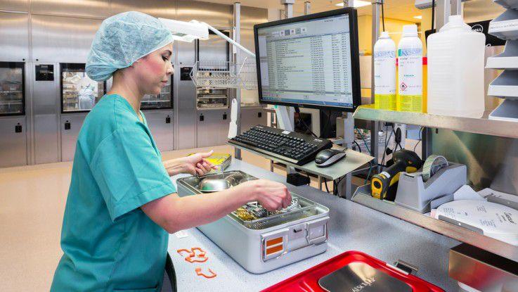 Packlistengenerator unterstützt Sterilgutkreislauf und Instrumentenmanagement in der Zentrale Sterilgutversorgungsabteilung (ZSVA).