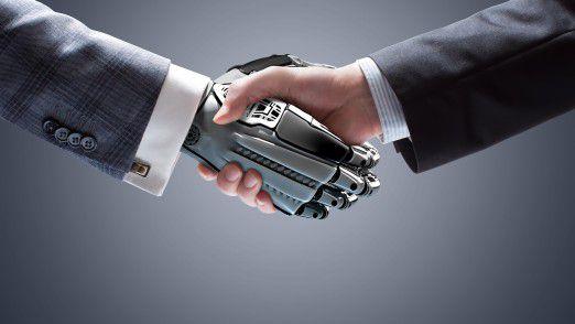 Wenn Mensch und Roboter gut zusammenarbeiten, sorgt das oft für einen Produktivitätsschub. Damit das aber tatsächlich klappt wie gewünscht, ist strategisches Change Management nötig.