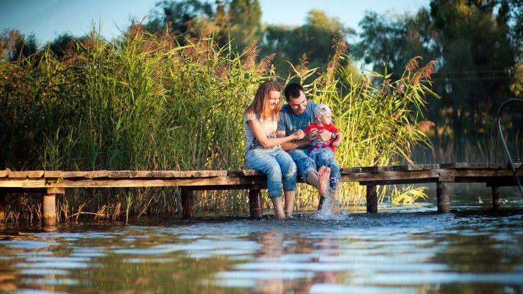 Das Elterngeld kann einen Teil des Einkommens ausgleichen, welches durch die Betreuung des Kindes wegfällt.