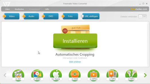Freemake Video Converter und Freemake Video Download ist ein idealer YouTube MP3 Converter