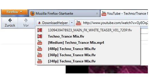 YouTube MP3 Converter gibt es auch als Browser-Add-On