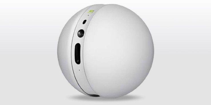 Mit dem Rolling Bot können Sie auch von unterwegs überall in der Wohnung nach dem Rechten sehen.