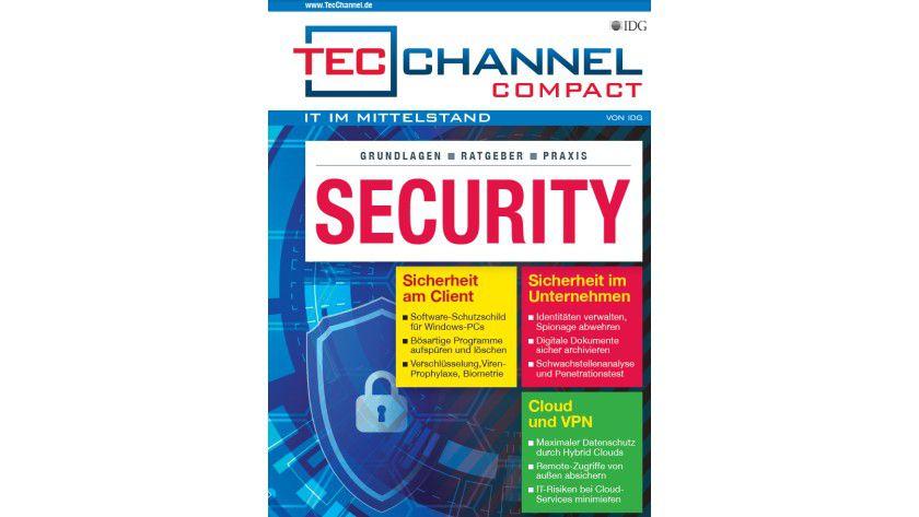 160 Seiten Security-Praxis, -Grundlagen und -Ratgeber im neuen TecChannel Compact Dezember 2016.