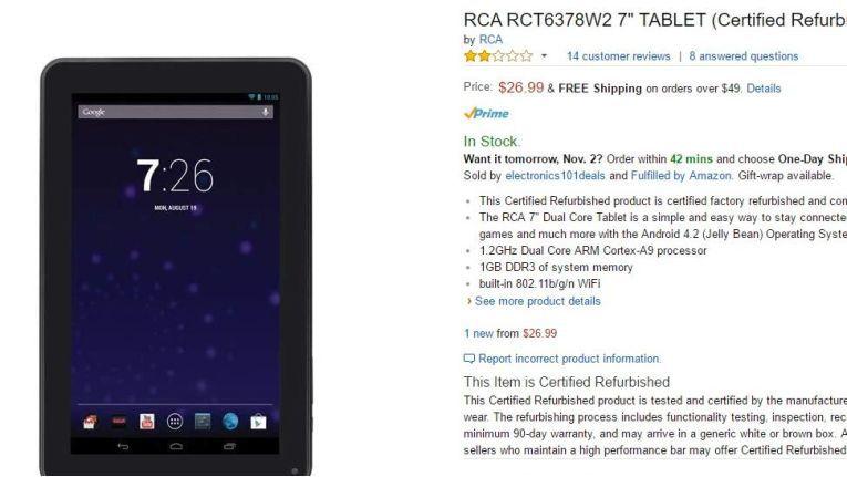 """Android-Tablets in diesem Preissegment gehören oft zur Familie der """"Craplets""""."""