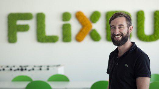 """""""In unserer IT gibt es keine Führungsebenen"""", sagt Flixbus-CIO Daniel Krauss."""