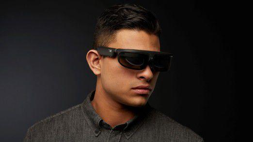 Die Mixed-Reality-Brille ODG R-8 besitzt zwei 720p-Displays und zwei Kameras. Apple würde so etwas nie bauen.