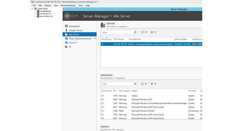 Mit dem Remote Desktop Connection Manager verwalten Anwender ihre Remotedesktopverbindungen übersichtlich und kostenlos.