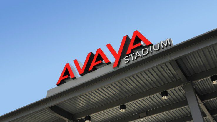 Das Avaya Stadium in San José, Kalifornien