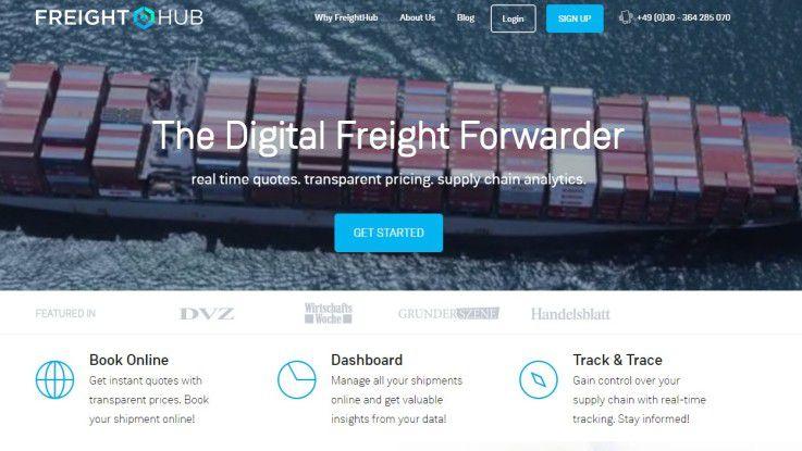 Hinter dem Startup FreightHub stecken unter anderem die Samwer-Brüder mit ihrer Investment-Gesellschaft Global Founders Capital.