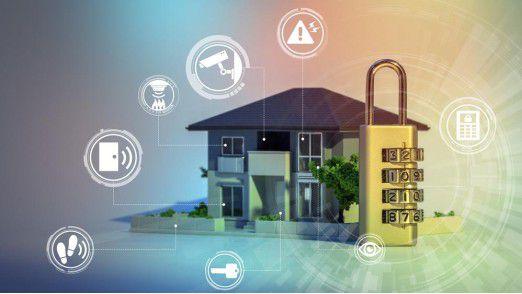 Besonders beim Schutz des Smart Home herrscht ncoh großer Nachholbedarf.