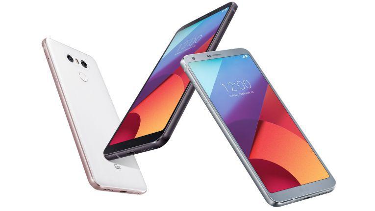 Das LG G6 mit Fullvision-Display.
