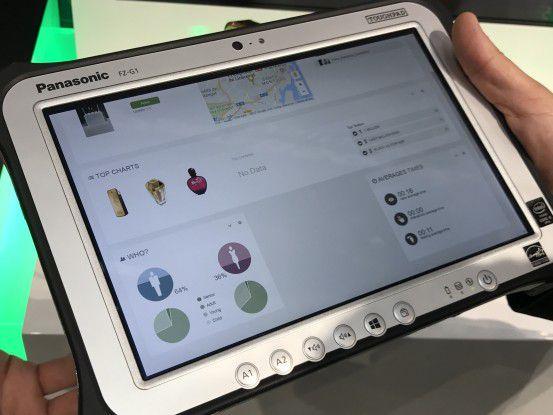 Der Verkäufer kann über ein Web-Interface das Nutzungsverhalten der Kunden einsehen und reagieren.