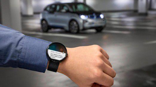 BMW bessert mit einer Container-Lösung bei ConnectedDrive nach.