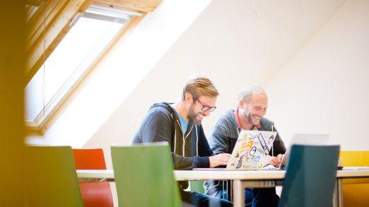 Freiraum macht Laune. Die Entwickler des Kasseler Softwarehauses Micromata können 20 Tage im Jahr neue Technologien ausprobieren. Dafür wurde Micromata auch als ein Great Place to Work ausgezeichnet.