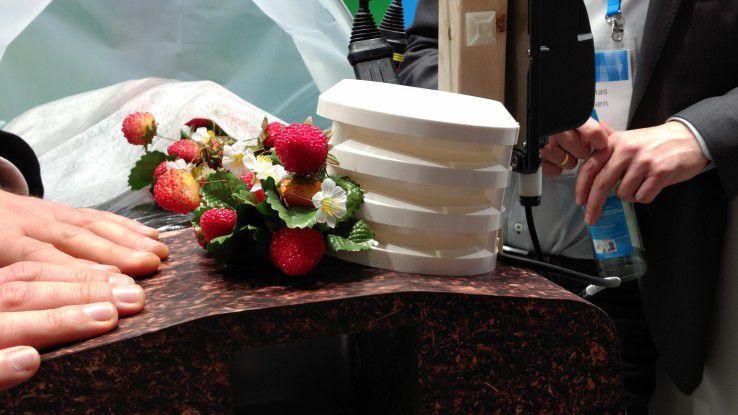 IoT-Sensoren sollen die optimalen Bedingungen zur Erdbeeraufzucht gewährleisten.