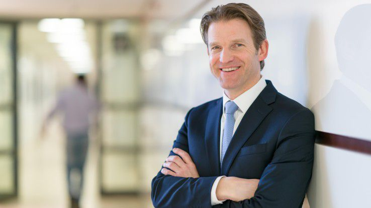 Mit Daniel Holz,, Managing Director der SAP Deutschland SE & Co KG, diskutierte CW-Redakteur Martin Bayer.