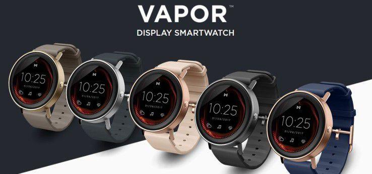 Die Misfit Vapor war mit 200 Dollar die billigste Smartwatch der Baselworld.
