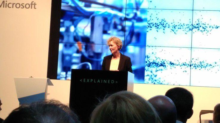 Microsoft-Deutschland-Chefin Bendiek kritisiert die verhaltene Investitionsfreudigkeit in Sachen Digitalisierung.