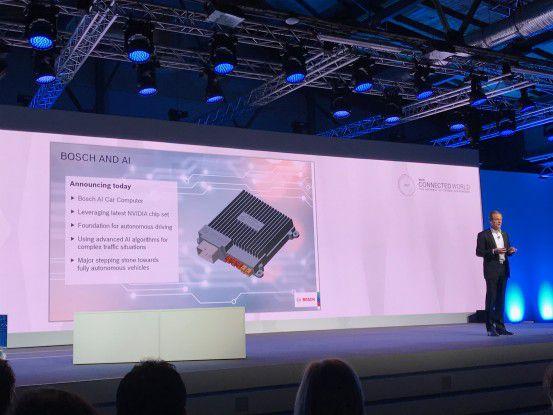 Bosch beschreitet mit neuen Partnern wie Nvidia Neuland.