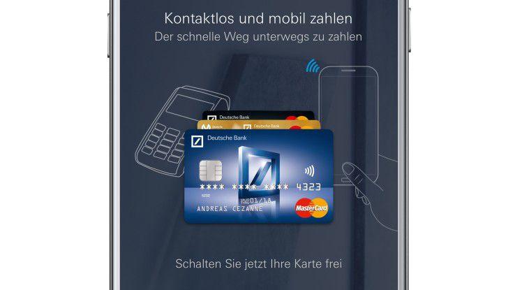 Mastercard und Deutsche Bank setzen beim Mobile Payment auf eine Token-Lösung.