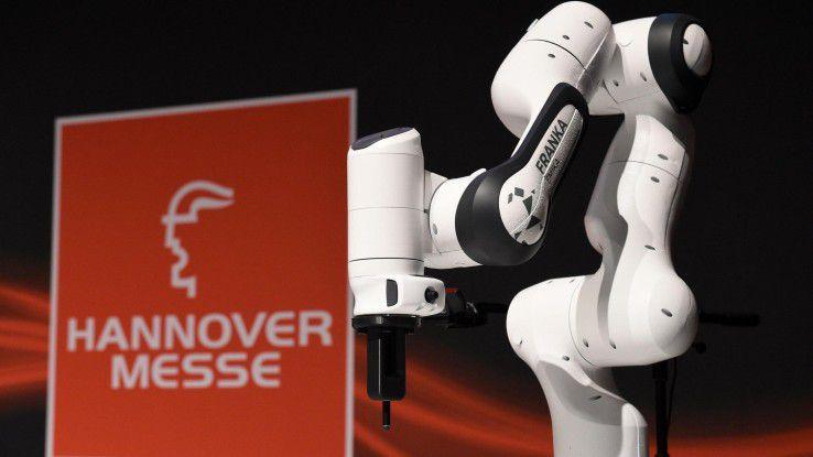 (I)IoT war eines der Hauptthemen auf der Hannover Messe Industrie 2017