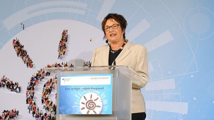 """Treibt den digitalen Wandel der deutschen Wirtschaft mit """"Digital Hubs"""" voran: Brigitte Zypries, Bundeswirtschaftsministerin."""